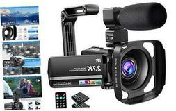 Video Camera Camcorder 2.7K Ultra HD YouTube Vlogging Camera