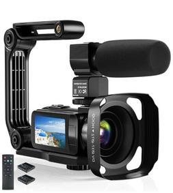 Video Camera Camcorder,2.7K Ultra HD YouTube Vlogging Camera