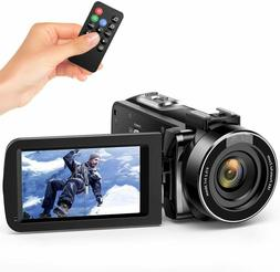 Andoer Video Camera Camcorder, Digital Camera Recorder FHD 1