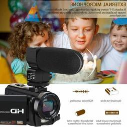 Video Camera Camcorder Digital YouTube Vlogging Camera Recor