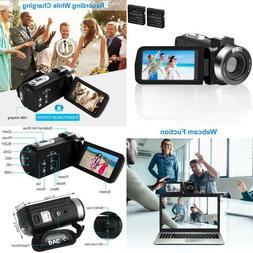 Video Camera Camcorder Digital Zoom Vlogging Camera For Yout