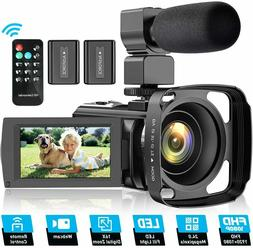 video camera camcorder for youtube fhd 1080p