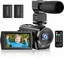Video Camera Camcorder YouTube Vlogging Camera FHD 1080P 30F