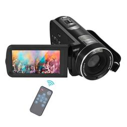 Video Camera Hd Portable Full 1080p Digital Camcorder Wifi 3