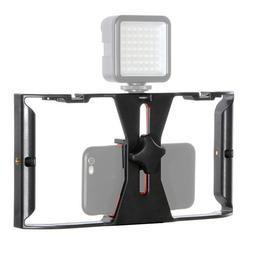 Video Stabilizer Rig Camera Cage Handheld Film Grip Stabiliz