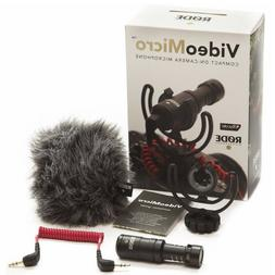 Rode VideoMicro Compact On-Camera Recording Microphone for C