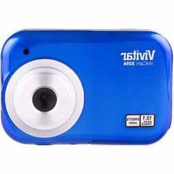 Vivitar ViviCam X054 10.1MP Digital Camera, Blue