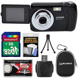 Vivitar ViviCam VXX14 Selfie Digital Camera  with 16GB Card