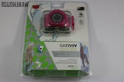 Vivitar 5.1MP ACTION CAMCORDER 720P Pink