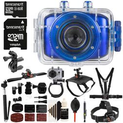 Vivitar DVR783HD 720P Wi-Fi 5.1MP Waterproof Action Sports V