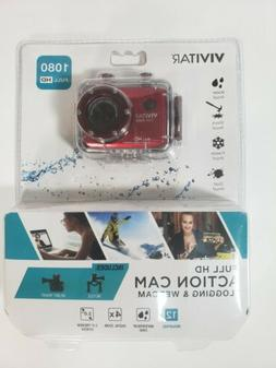 Vivitar Full HD 1080p Action Cam DVR786HD NEW SEALED