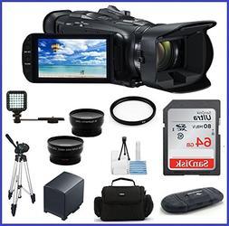 Canon VIXIA HF G40 Full HD Camcorder Pro 2 Bundle, Includes: