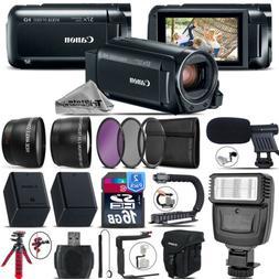 Canon VIXIA HF R 800 HFR 800 Camcorder Black + MIC + Filter