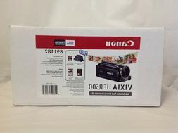 Canon VIXIA HF R500 Digital Camcorder  w/ Accessory Bundle -