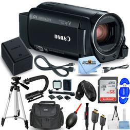 Canon VIXIA HF R80 Camcorder 1959C001 + 32GB + LED Light Kit