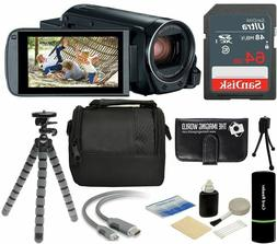 Canon VIXIA HF R800 57x Zoom Full HD Video Camcorder Black 6