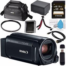 Canon VIXIA HF R800 Camcorder  1960C002 + Compact Camcorder