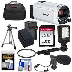 Canon Vixia HF R800 1080p HD Video Camera Camcorder  with 32