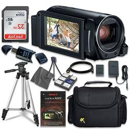 Canon VIXIA HF R800 Camcorder with Sandisk 32 GB SD Memory C