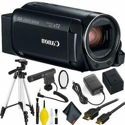 Canon VIXIA HF R800 Camcorder  w/Microphone
