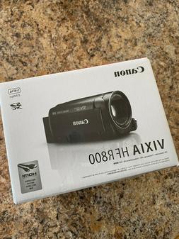 Canon VIXIA HF R800 Digital MP4 Full HD Camcorder Black w/Bo