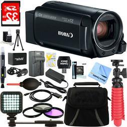 Canon VIXIA HF R800 Full HD Black Camcorder + 32GB Card and