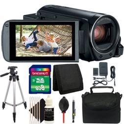 Canon VIXIA HF R800 HD Camcorder  + 8GB Accessory Kit + Trip