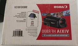 CANON VIXIA HF R800 HD FLASH MEMORY CAMCORDER KIT-NEW
