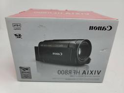 Canon VIXIA HF R800 Portable Video Camera Camcorder - Black