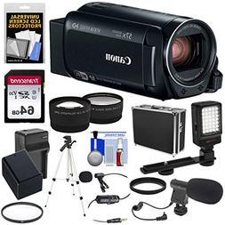 Canon Vixia HF R82 32GB Wi-Fi 1080p HD Video Camera Camcorde
