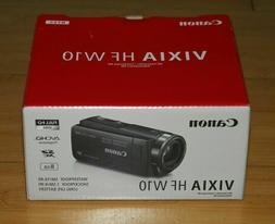 Canon Vixia HF W10 HD Camcorder Video Camera In BLUE New!!