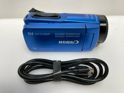 Canon - VIXIA HF W10 Waterproof HD Camcorder - Blue