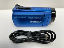 Canon - VIXIA HF W10 Waterproof HD Camcorder - Blue