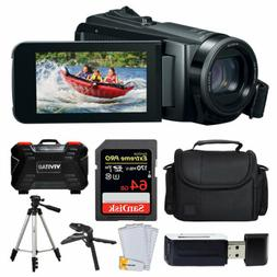 Canon Vixia HF W11 Waterproof Camcorder + 64GB Card + Case +
