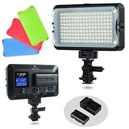 VILTROX VL-162T CRI95+ LED Video Light, Portable Camera Phot