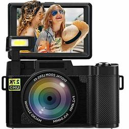 vlog camera with flip screen vlogging