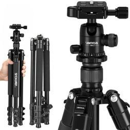 ZOMEI VT111 Professional Fluid Head Tripod Portable For DSLR