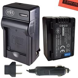 BM Premium VW-VBT190 Battery and Battery Charger for Panason