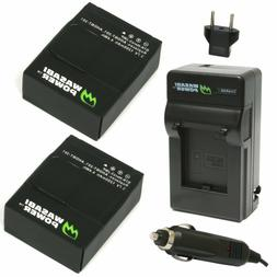 Wasabi Power Battery  and Charger for GoPro HERO3 & HERO3+