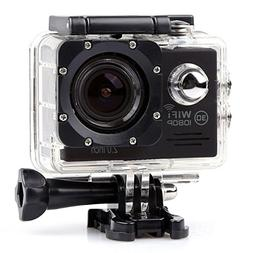 YOEMELY Action Video Camera,HD 1080P 14M Wifi Sports Camcord