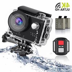 Sport Action Camera 4K, Siroflo 12MP 1080P Full HD Sports Ca