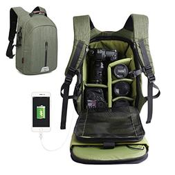 Large Capacity Camera Bag Backpack Waterproof Hiking Travel