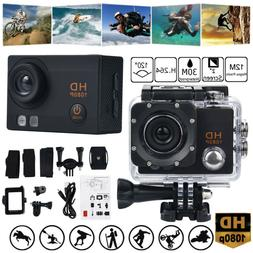 Waterproof Camera HD 1080P Sport Action Camera DVR Cam DV Vi