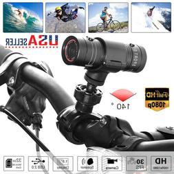 Waterproof Motorcycle Helmet Camera Bike Full HD 1080P Outdo