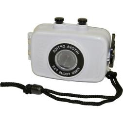 Intova Duo Waterproof HD POV Sports Video Camera, White