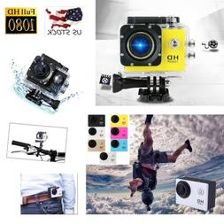 Waterproof Ultra 1080P HD Sports Action Camera DVR Cam Camco