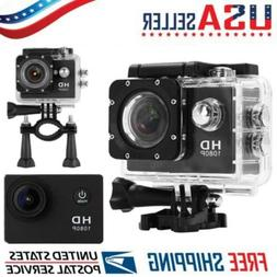 Waterproof Video Action Sports Camera DV 1080P Helmet Camcor