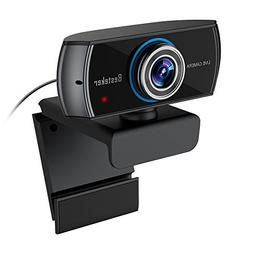 1536P Full HD Webcam, Besteker  1080P Wide Angle Camera with