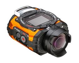 Ricoh WG-M1 Orange Waterproof Action Video Camera with 1.5-I