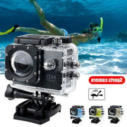 Wifi 1080P 4K Ultra HD Sport Action Camera Underwater Camcor